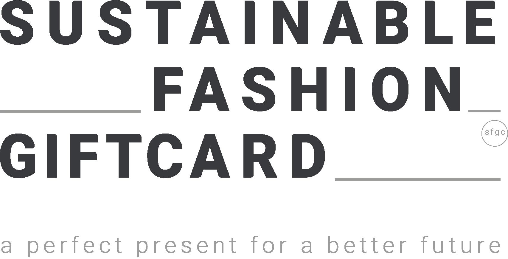 Logo Sustainable Fashion Gift Card